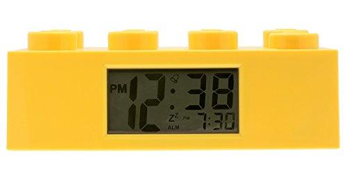 Lego - 9002144 - Accessoire Jeu de Construction - Reveil Brique Geante - Jaune 0796133129267