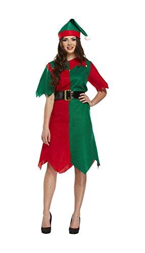 Hohe Qualität Unisex Erwachsene Weihnachten Santa Claus Vater Kostüm Damen & Herren Fancy Kleid Santa Elf Weihnachts Deluxe Weihnachten Outfits Mega Deal von Lizzy®