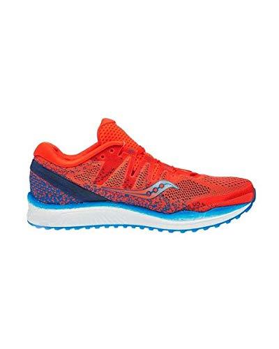 Saucony Freedom ISO 2, Scarpe Running Uomo, Arancione (Orange/Blue 36), 42.5 EU