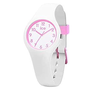 Ice-Watch – ICE ola kids Candy white – Girl's wristwatch with silicon strap – 015349 (Extra small)