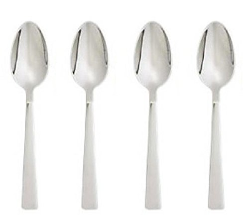 oneida-techny-for-crate-barrel-dinner-spoon-set-of-4