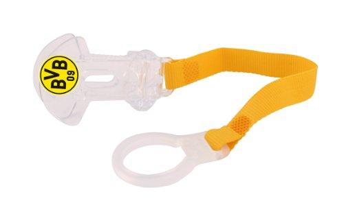 """Preisvergleich Produktbild MAM 67601700 - Clip, Schnullerband """"Borussia Dortmund"""""""