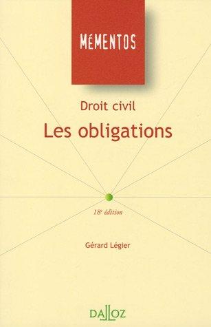 Les obligations : Droit civil