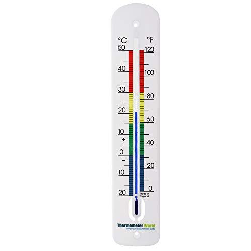 Thermomètre extérieur mural