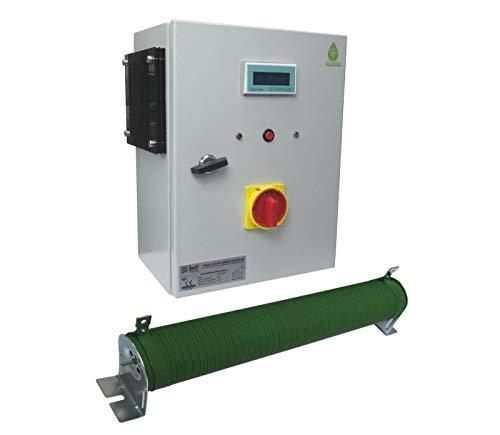 Windgenerator 2 kW, Wind Turbine 48V, Inselanlage von IstaBreeze® zur Auswahl (Hybrid Laderegler I/HCC2000-48V) Gel Marine Batterie