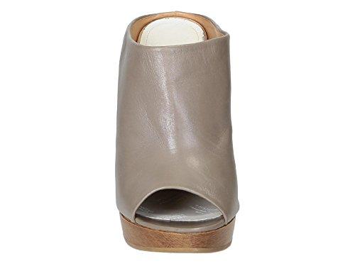 Nu-pied compensées Maison Margiela en cuir Taupe - Code modèle: S38WP0275 SX7730 Taupe