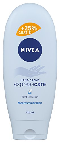 NIVEA Hand Creme, Express Care, 125 ml, Gratis