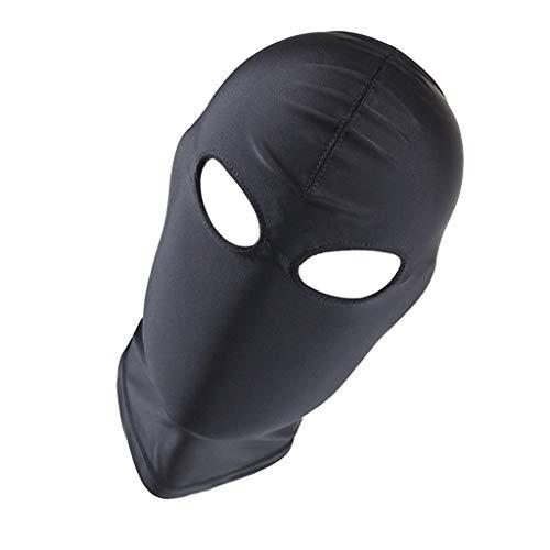 Fenteer Zentai Kostüm Maske Haube Balaclava Gesichtsmaske Gesichtshaube Cosplay Kostüm Kleidung für Männer Frauen - 03