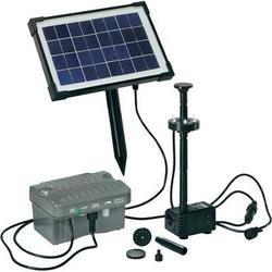 ingenieux Kit Bomba Solar immergee con iluminación a LED, resistente, muy fácil de œ uvre, para realiser los juegos d agua, en su estanque, haga usted placer con este sistema solar genera de Cuenca, con la única energía solar: no d ELECTRICITE a situ...