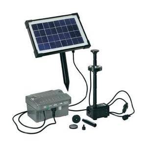 Esotec 101775 – Conjunto de Bomba para depósito de Agua por energía Solar (Talla 1)