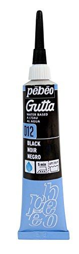 pebeo-tubetto-di-pittura-per-seta-a-base-dacqua-gutta-20-ml-colore-nero