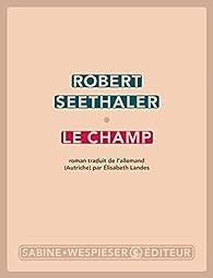 Le champ par Robert Seethaler