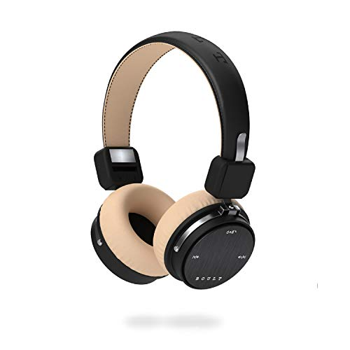 Boult Audio Flex Over-Ear Wireless Bluetooth Headphones (Black)