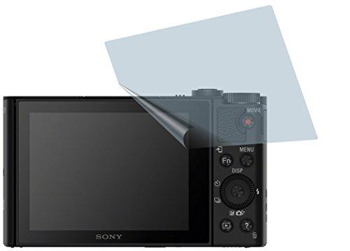 dsc wx 500 Sony Cyber-shot DSC-WX500 (2 Stück) PREMIUM Displayschutzfolie Bildschirmschutzfolie ANTIREFLEX - KRATZFEST UND PASSGENAU