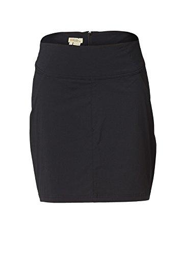 Jet Nylon Shorts (Royal Robbins Damen Discovery Skort Shorts, Jet Black, size us8)