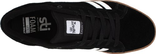 Emerica THE LEO 6102000065, Sneaker uomo Nero (Black)