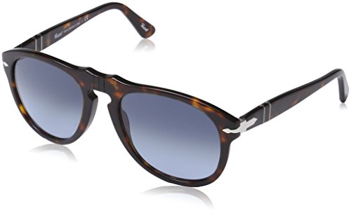 Persol mod. 0649 sun occhiali da sole, unisex adulto, multicolore (light blue shaded), 52