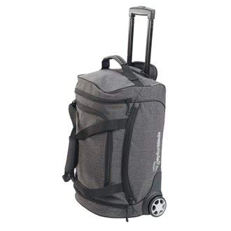 TaylorMade Golf 2018 Mens Classic Rolling Carry On Travel Bag Grey/Black