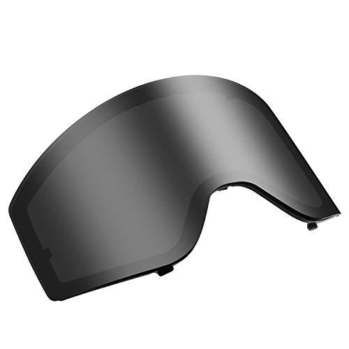 VELAZZIO Skibrille Ersatzgläser - mehrere VLT & Farben zur Auswahl, beschlagfrei, 100% UV-Schutz, Polarized Lens(VLT 6%)