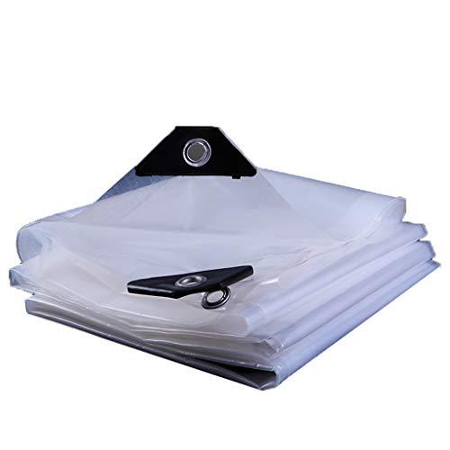 Zoom IMG-1 tenda in plastica trasparente polietilene