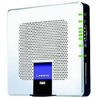 Linksys WIRELESS ANNEX B ADSL MODEM ( FIREWALL GATEWAY 4PT SWITCH/ Geschwindigkeit: 54 MBit/sek) -
