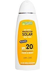 Crème solaire à l'aloe vera SPF 20200ml