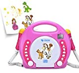 X4-Tech Bobb Joey (Ohne Speicher) - MP3 Player - Pink, 701354