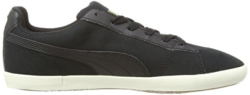 Puma Civilian Canvas 35807401, Unisex-Erwachsene Low-Top Sneaker Schwarz (Black/Black)