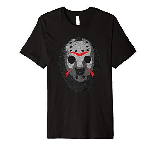 Freitag der 13 Jason Eishockey Maske T-Shirt