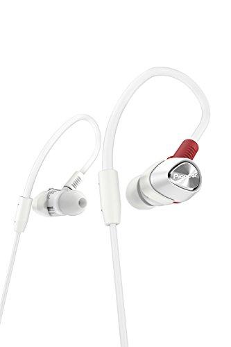 Pioneer DJE-1500-W Weiß im Ohr Ohrbügel - Kopfhörer (im Ohr, Ohrbügel, Verkabelt, 6 - 20000 Hz, 105 dB, Weiß)