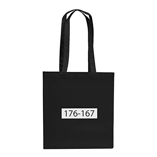 Texlab Sträfling 176 167 - Stoffbeutel, schwarz