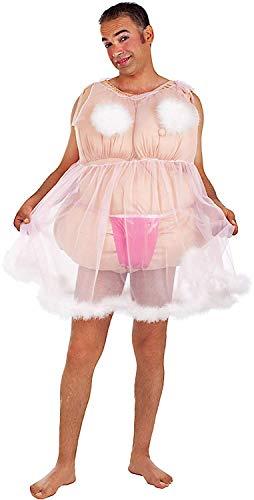 Fancy Me Sexy Ballerina-Kostüm für Herren, lustige ()