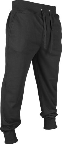 Urban Classics TB270 Undefined Sweatpants Pantalone Tuta Uomo Regular Fit Black