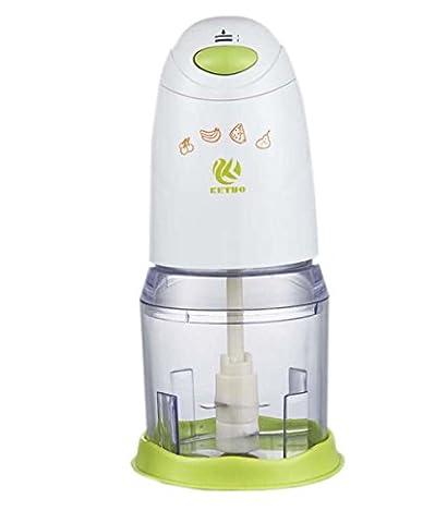 HJXJXJX Kleine multifunktionale Kochmaschine Haushalt elektrische Fleischwolf 26 * 12cm Säuglingsfütterungsmaschine