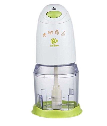HJXJXJX Kleine multifunktionale Kochmaschine Haushalt elektrische Fleischwolf 26 * 12cm Säuglingsfütterungsmaschine (Fleischwolf 12)