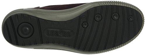 Legero - Tanaro, Scarpe da ginnastica Donna Rosso (Rot (Burgundy 68))