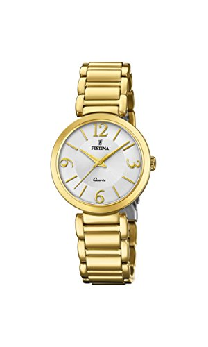 Festina Womens Analogue Classic Quartz Watch with Stainless Steel Strap F20214/1