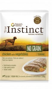 True Instinct Adult Pollo No Grain Terrina 300gram