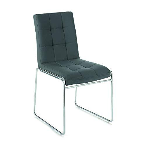 Wink design sedie Imbottite Lansing Metallo grigio - Confronta prezzi.