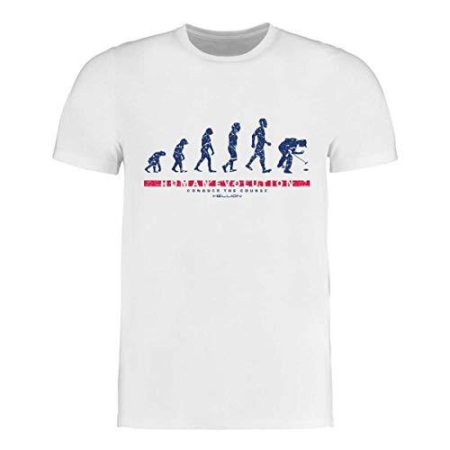 HELLION® Maglietta da Golf Sviluppo Umano I Taglia S - 3XL I complemento Perfetto per la Polo da Golf (M)