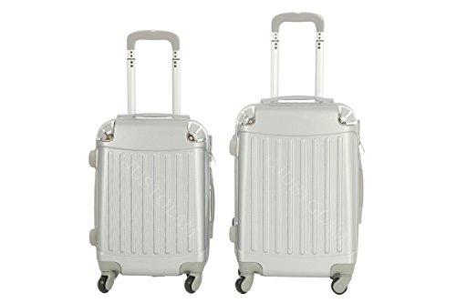 Maleta cabina 50 y 55 cm 4 ruedas trolley cascara dura adecuadas para vuelos de bajo coste art 2022