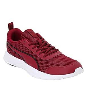 Puma Men's Sear Idp Rhubarb Black Running Shoes-6 UK (39 EU) (7 US) (37309403_6)