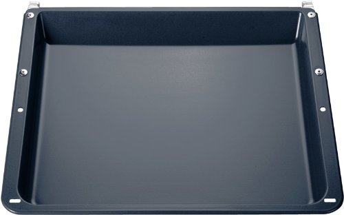 Siemens HZ342002 Zubehör Universalpfanne (Innenabmessungen : 41 x 35 x 4 cm, Außenabmessungen : 46 x 39,5 x 4,5 cm) (36 Wagen)