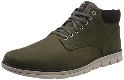 Timberland Bradstreet Leather Sensorflex, Baskets Chukka Homme, Grün (Grape Leaf),42 EU