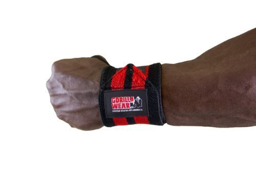 Gorilla Wear Wrist Wraps (99106) Handgelenkbandagen/Bandagen/Bodybuilding