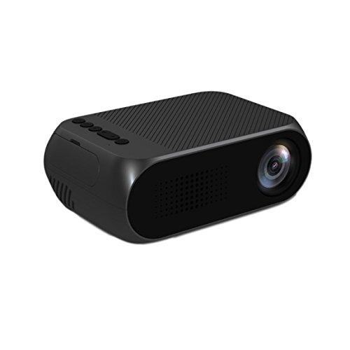 LCD Beamer, YG320 1080P HD, Multimedia Heimkino Video Projektor Unterstützung HDMI USB TF Karte AV