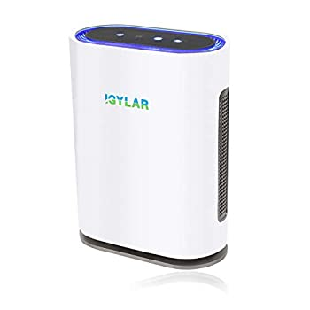 IGYLAR Air Purifier ETL Verified with True HEPA Filter for Allergies/Smoke/Dust Ultra High CADR Odor Eliminator Air Cleaner for Large Room with Negative-Ion Smart Air Monitor Optional Child Clock