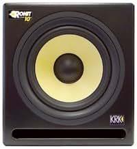 Krk - rp10s subwoofer amplifie 225w pour monitoring studio- rp 10s