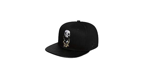 af56a79620c New Era Men Caps Snapback Cap Skullchains 9Fifty Black Adjustable   Amazon.co.uk  Clothing