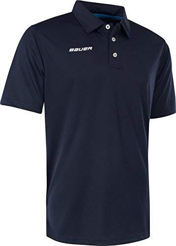 BAUER Core Polo Senior, Größe:M, Farbe:Navy -